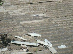 7- Vanadzor VHS College roof with broken asbestos cover 4.jpg side by side