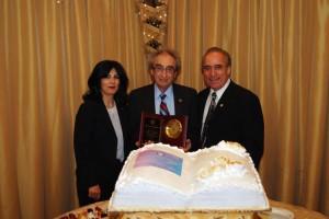AAEF's 4th Anniversary Gala guest of honor Dr. Richard Dekmejian