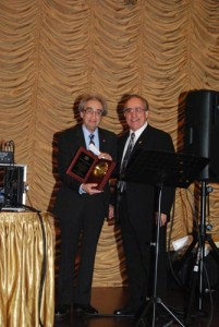 AAEF honoring Dr. Richard Dekemejian for his tremendous work for the Armenian community