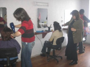 Gyumri  2 VHS new beautician workshop
