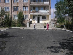 AAEF Sponsored Paved Road in Front of Gyumri 2 VHS