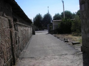 AAEF Sponsored Paved Driveway to Gyumri 2 VHS