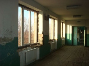 Maralik-VHS-with--new-windows-in-corridor