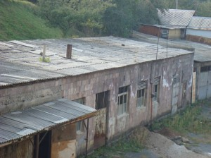 Vanadzor old workshop and boiler house