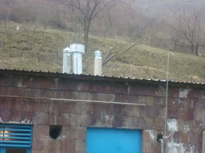 Vanadzor VHS boiler-house  with renovated roof and related equipment