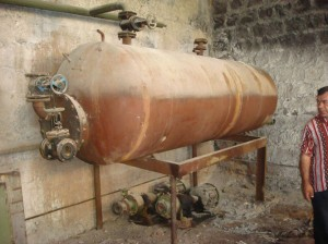 Vanadzor VHS old heating unit 150