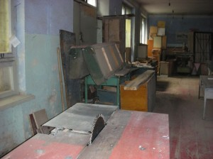 Vanadzor VHS old carpentry cutting machine