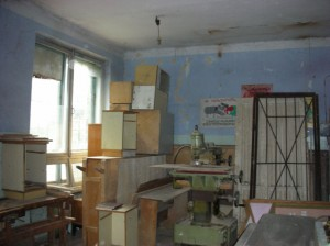 Vanadzor VHS old carpentry workshop