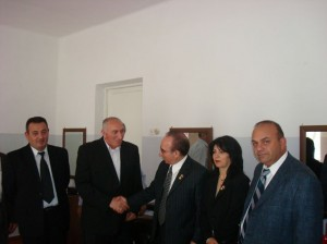 Vanadzor VHS director Mr. Lokiyan welcome AAEF President l