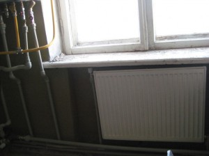 New radiator installed in Vardenis VHS  083