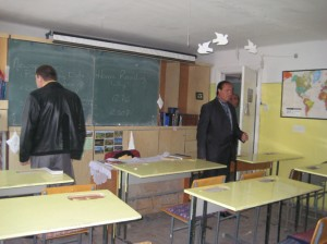 Classroom in Vardenis VHS