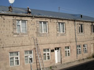 Yeghegnadzor VHS with  new roof 2