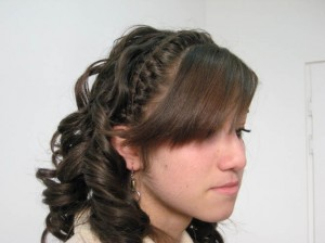 Yeghegnadzor VHS beautie students modeling hair style  035
