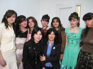 Yeghegnadzor VHS beautie students modeling hair style  046