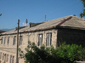 Yeghegnadzor VHS old roof542